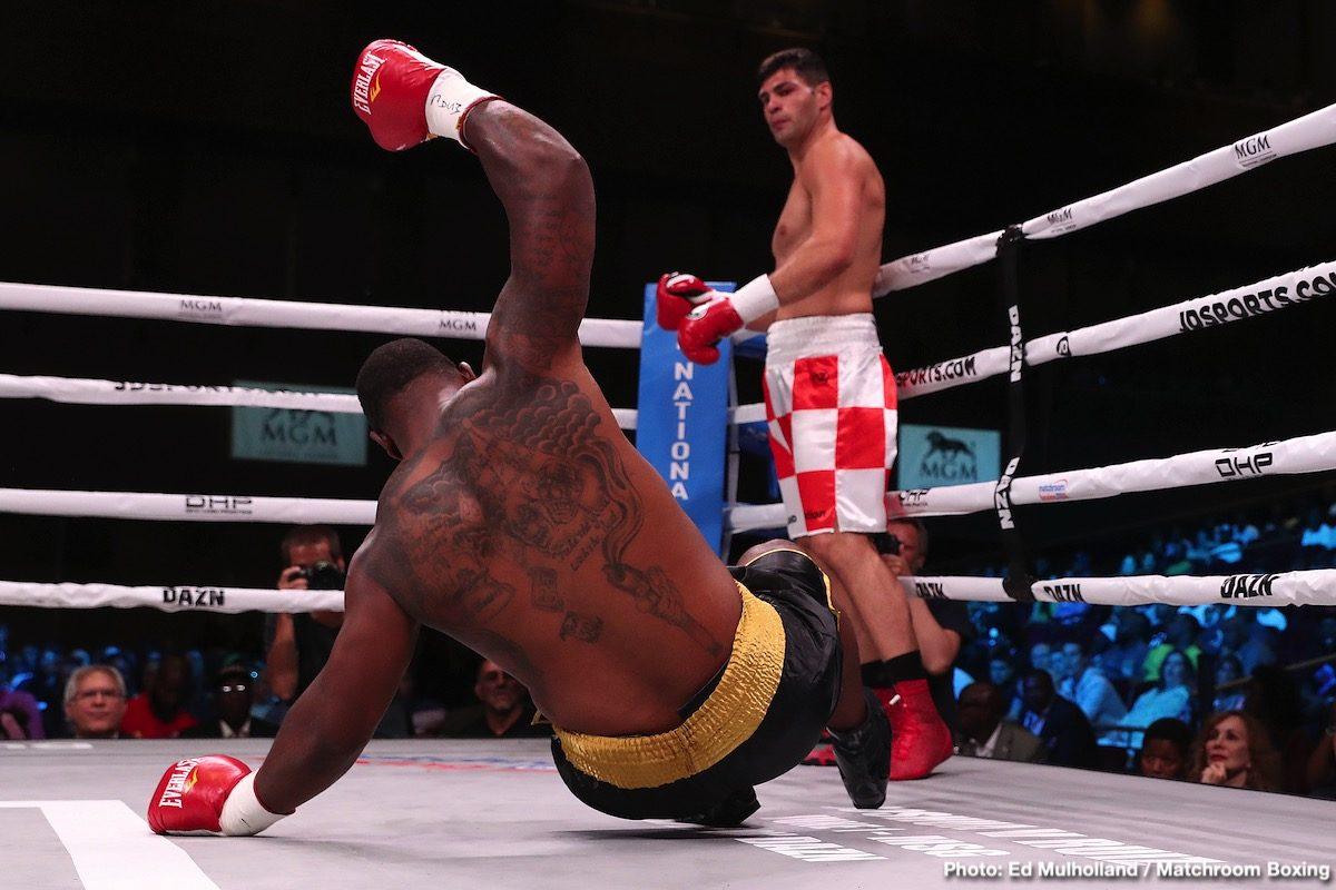 Eric Molina Filip Hrgovic Boxing News