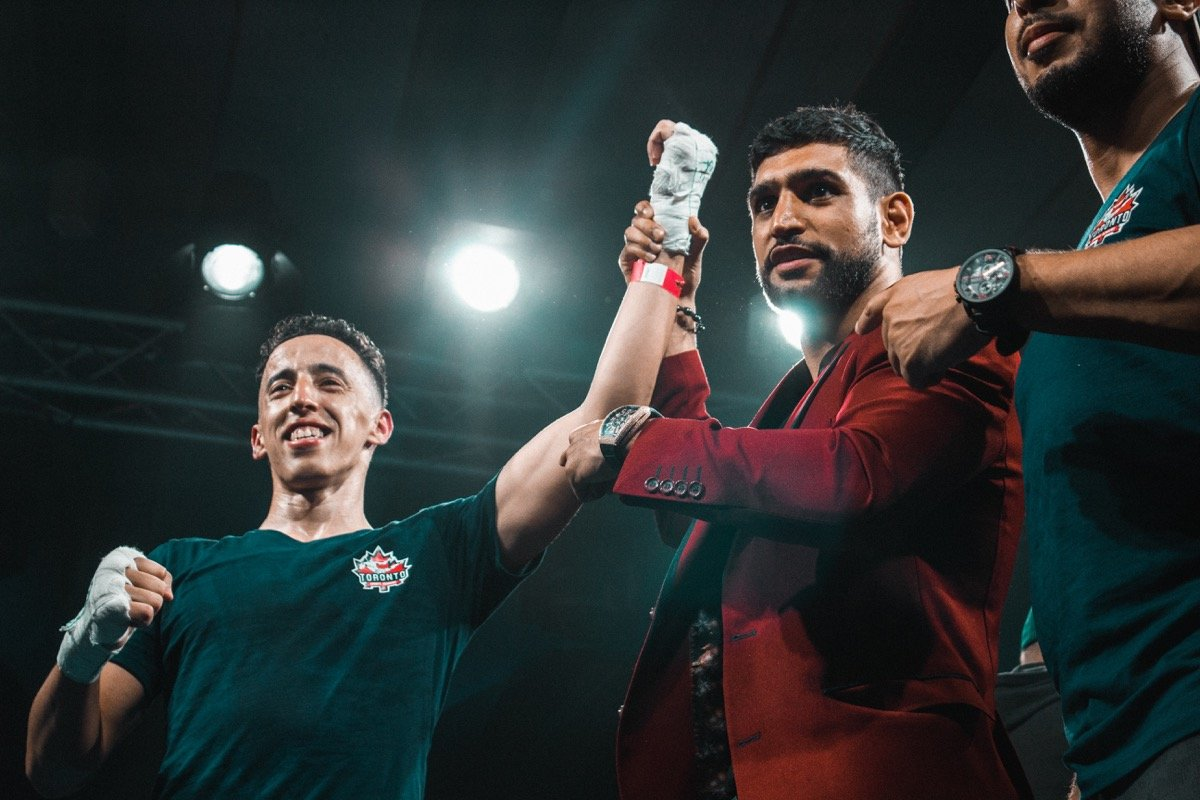 Ashley Theophane, Oscar Ahlin - Badou Jack Promotions had a successful night at the Palm Five Jumeirah on Friday in Dubai, UAE.  KSI, Amir Khan, Naseem Hamed, Mini Minter and Ahmed Al Nasheet were all in attendance.