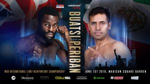 Joshua Buatsi - Joshua Buatsi will fight in America for the first time as a professional when he defends his WBA International Light-Heavyweight title against Marco Antonio Periban at Madison Square Garden on Saturday June 1, live on DAZN in the US and Sky Sports Box Office in the UK.