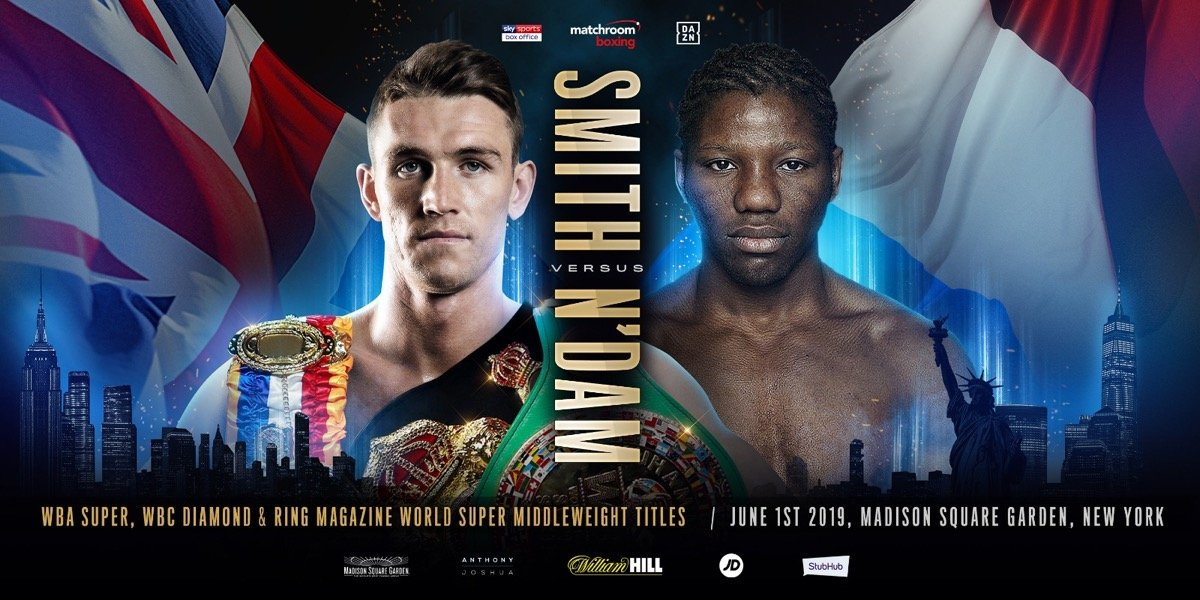 Callum Smith, Hassan N'Dam - Press Room
