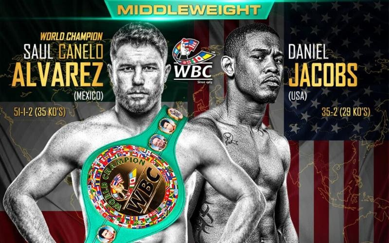 Image result for Canelo Alvarez vs. Daniel Jacobs
