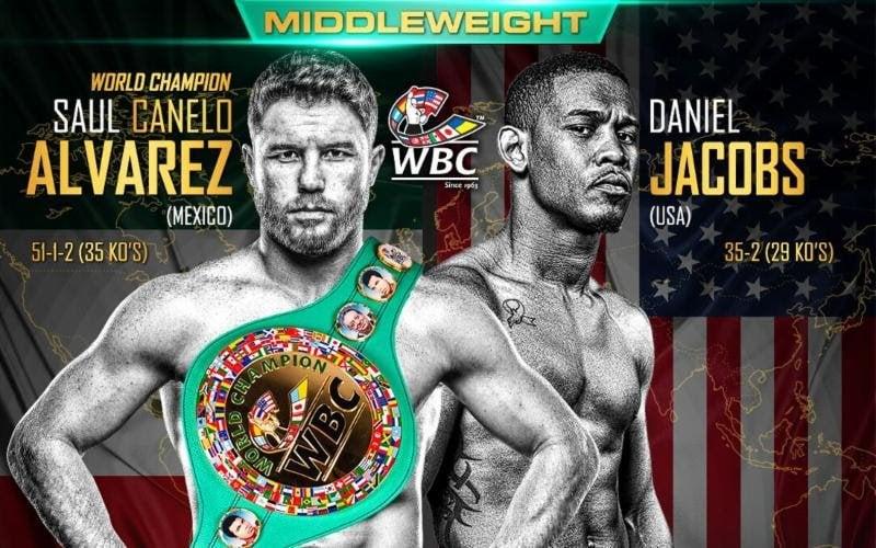 Image result for Canelo Alvarez vs. Daniel Jacobs