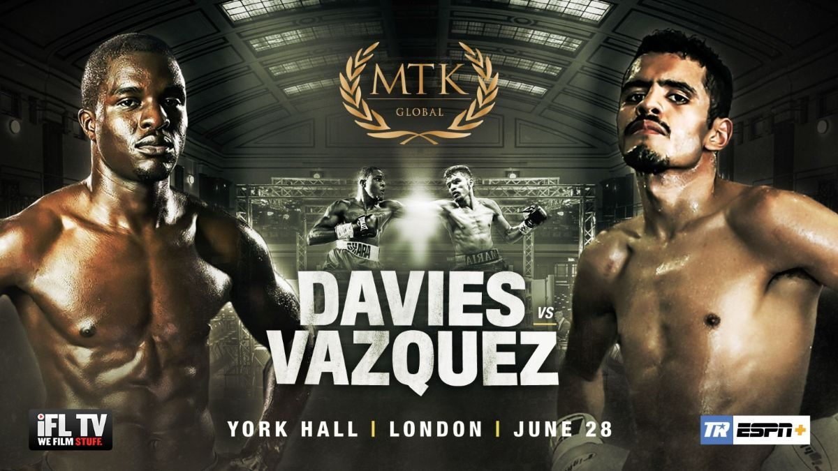 Miguel Vazquez Ohara Davies British Boxing Press Room