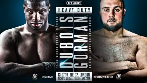 Nathan Gorman - NORMALLY meek Daniel Dubois has lashed out at the shape of bitter domestic rival Nathan Gorman.