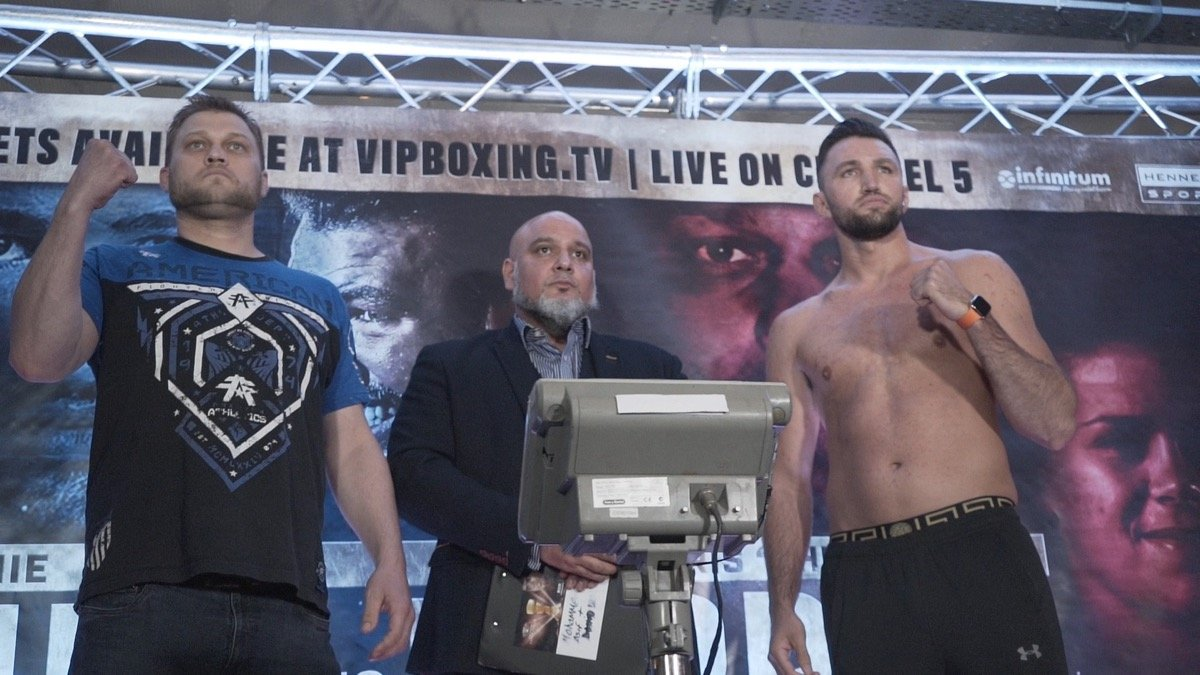 Hughie Fury - Mick Hennessy on behalf of Hennessy Sports Presents International Boxing Saturday 25 May 2019 - The Victoria Warehouse, Manchester - Doors open at 5pm - Exclusively live on 5 Spike and Channel 5.