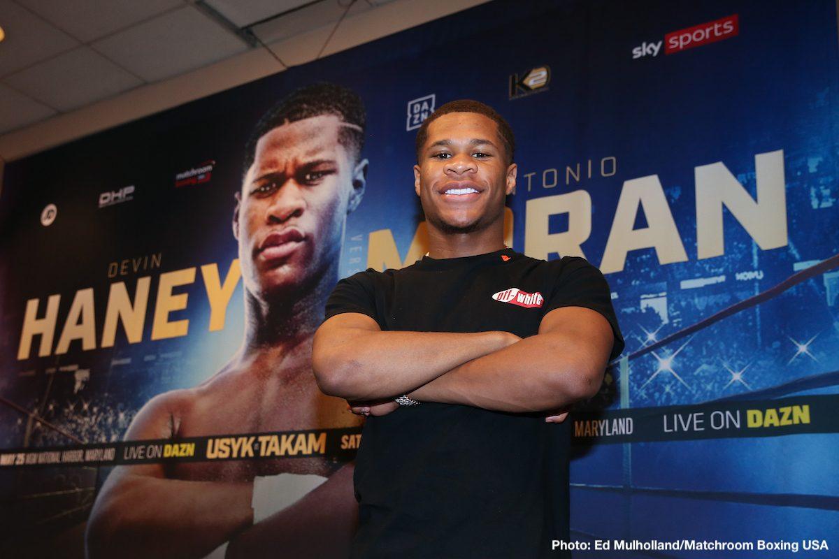 DAZN Devin Haney Boxing News