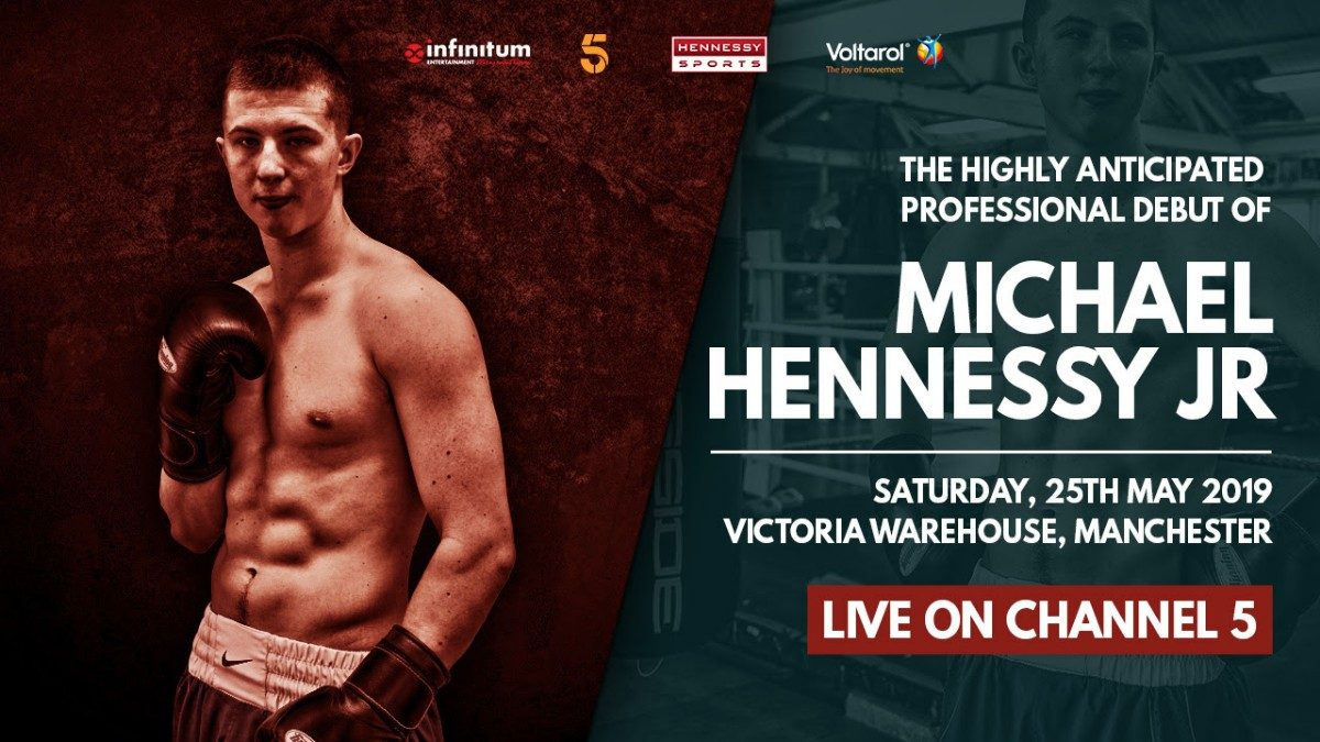 Michael Hennessy Jr British Boxing Press Room