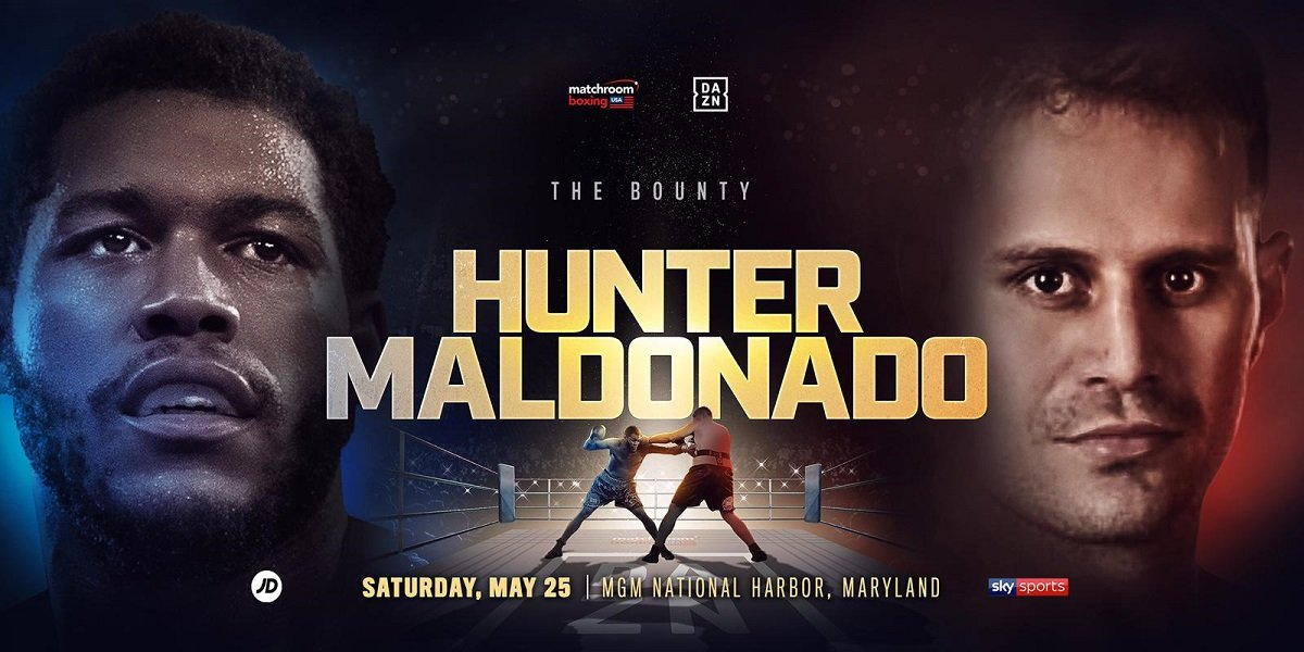 Michael Hunter - Michael Hunter will step up his pursuit of major fights in the Heavyweight division as he faces Fabio Maldonado at the MGM National Harbor in Oxon Hill, Maryland on Saturday May 25, live on DAZN in the US and on Sky Sports in the UK.