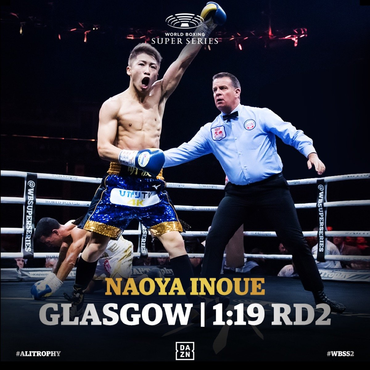 "Naoya Inoue - Sauerland: ""Is Inoue going to win the Ali Trophy in 10 minutes?! What a Monster!"""