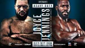 Bryant Jennings - FRANK WARREN believes Joe Joyce will be challenging for the world heavyweight title inside a year.