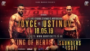 Billy Joe Saunders - JOE JOYCE WILL encounter a giant in the shape of former world title challenger Alexander Ustinov when he returns to the ring on May 18 at the Lamex Stadium live on BT Sport.
