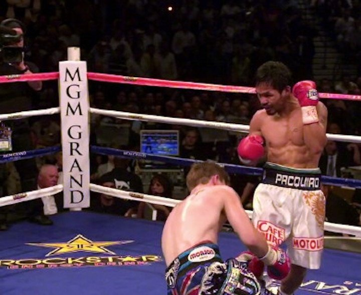 Manny Pacquiao Ricky Hatton Boxing History Boxing News