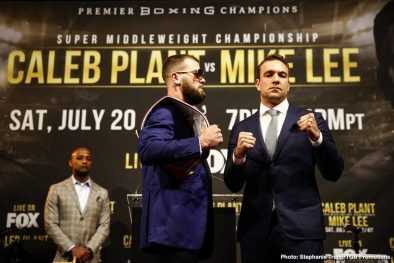Caleb Plant Keith Thurman Manny Pacquiao Mike Lee Boxing News Top Stories Boxing