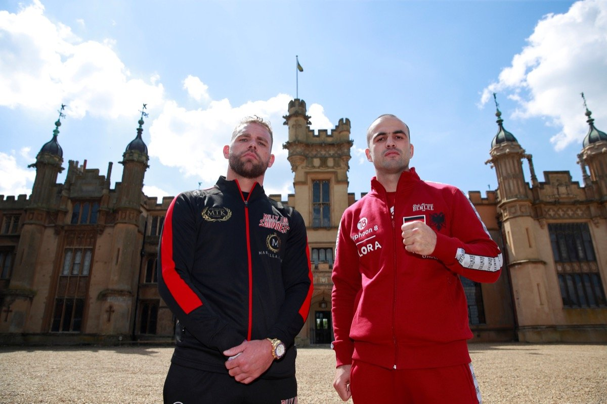 PROMOTER Frank Warren today held the final press conference ahead of Saturday's vacant WBO world super-middleweight title clash between Billy Joe Saunders and Shefat Isufi at The Lamex Stadium, home of Stevenage FC.