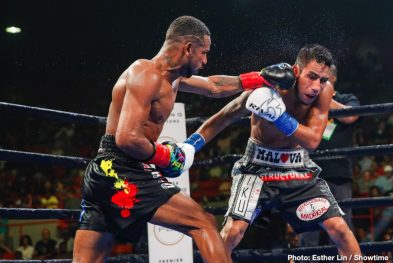 Brandon Adams Claudio Marrero Erickson Lubin Jermall Charlo Boxing News Boxing Results Top Stories Boxing