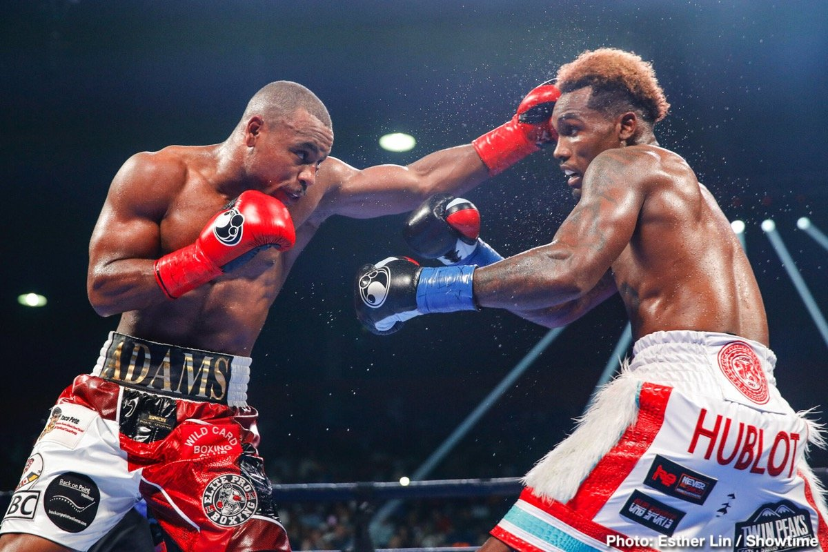 Brandon Adams - This past Saturday night, Brandon Adams announced himself as a top contender as he put on a gutsy performance against undefeated WBC World Middleweight Champion Jermall Charlo in Charlo's hometown of Houston.