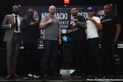 Adam Kownacki, Andre Berto, Chris Arreola, Jean Pascal, Marcus Browne, Miguel Cruz - Boxing News