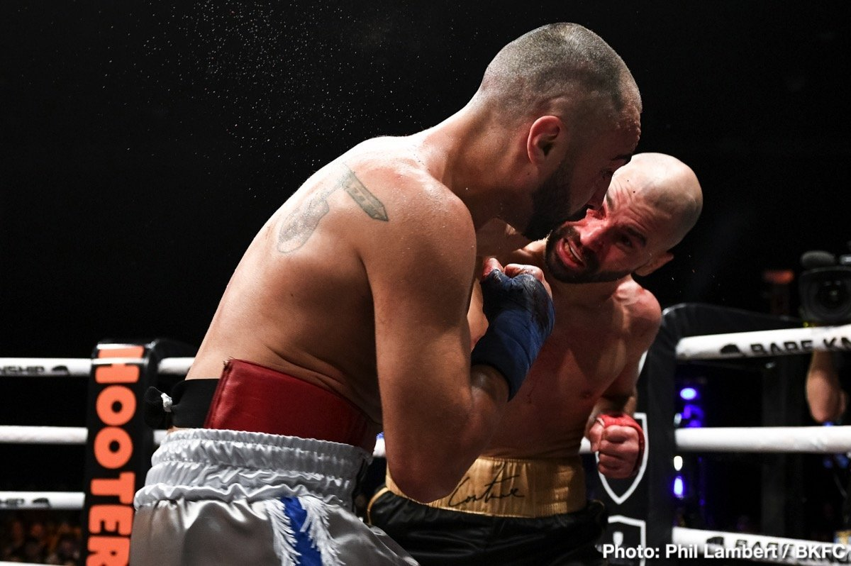 """Artem Lobov, Paulie Malignaggi - Fresh off the biggest win of his career, a bloody decision win over former two-time champ Paulie Malignaggi (a 38 year old version, one who was having his first fight in bare knuckle boxing), Artem Lobov is looking at his next move. More precisely, Lobov is eyeing up his next payday. Brutally honest about it, the likeable Russian warrior said at last night's post-fight press conference how he will go """"wherever the money is, whoever pays me the most."""""""