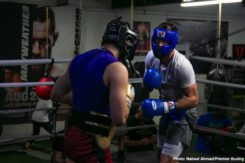 "Mike Lee - Undefeated IBF Super Middleweight World Champion Caleb ""Sweethands"" Plant discussed his current training camp as he prepares for his first title defense against unbeaten Mike Lee in the main event of FOX PBC Fight Night on FOX and FOX Deportes Saturday, July 20 from the MGM Grand Garden Arena in Las Vegas."