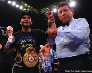 """Alberto """"El Explosivo"""" Machado - For the second time in a row, WBA World super flyweight champion Andrew """"El Chango"""" Cancio (21-4-2, 16 KOs) proved to have too much for Alberto """"Explosivo"""" Machado (21-2, 17 KOs) in stopping him in the third round on Friday night at the Fantasy Springs Resort Casino in Indio, California. Cancio, 30, knocked Machado down with a hard body shot in the third round. Machado had taken a lot of hard shots in round two that sapped the strength from him."""