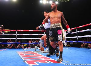 """Alberto """"El Explosivo"""" Machado - Andrew """"El Chango"""" Cancio (21-4-2, 15 KOs), the pride of Blythe, Calif., successfully defended his WBA Super Featherweight World Title via third-round knockout in his rematch against Puerto Rico's Alberto """"Explosivo"""" Machado (21-2, 17 KOs). The event took place at Fantasy Springs Resort Casino in Indio, Calif. and was streamed live exclusively on DAZN. After much toe-to-toe action, Cancio landed a body shot that ended matters at 1:01 of the third round."""