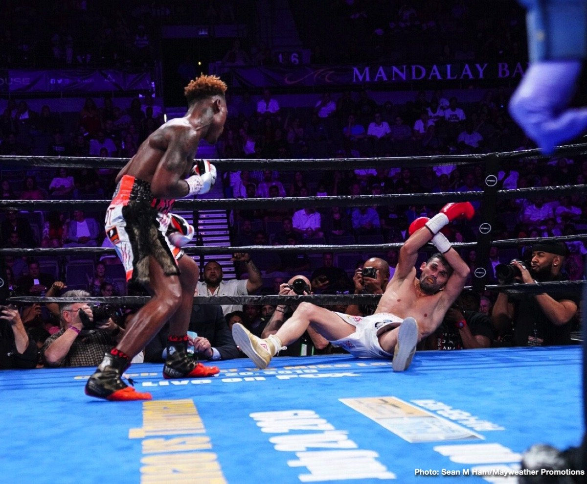 Jermell Charlo - Former super welterweight world champion Jermell Charlo had anticipated this night would be all about him returning to championship glory. But it wasn't to be. Charlo accomplished something just as sweet - a picture perfect knockout victory over dangerous veteran Jorge Cota in the main event of PBC on FOX Fight Night from Mandalay Bay Event Center in Las Vegas.