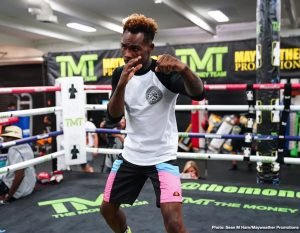 Chris Colbert - Former world champion Jermell Charlo and hard hitting Jorge Cota took part in a media workout Thursday as they near their main event showdown that headlines Premier Boxing Champions on FOX and FOX Deportes this Sunday night from Mandalay Bay Events Center in Las Vegas.