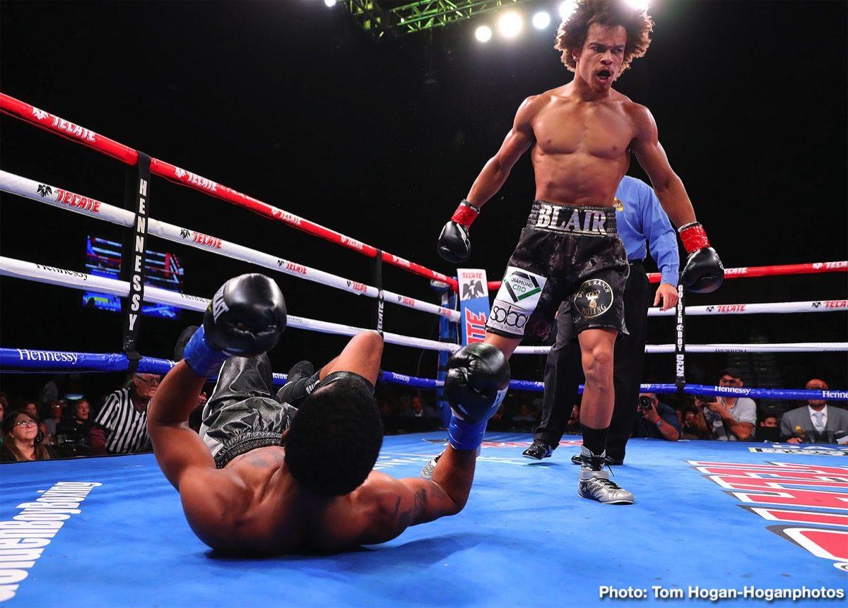 Blair Cobbs Boxing Results Press Room