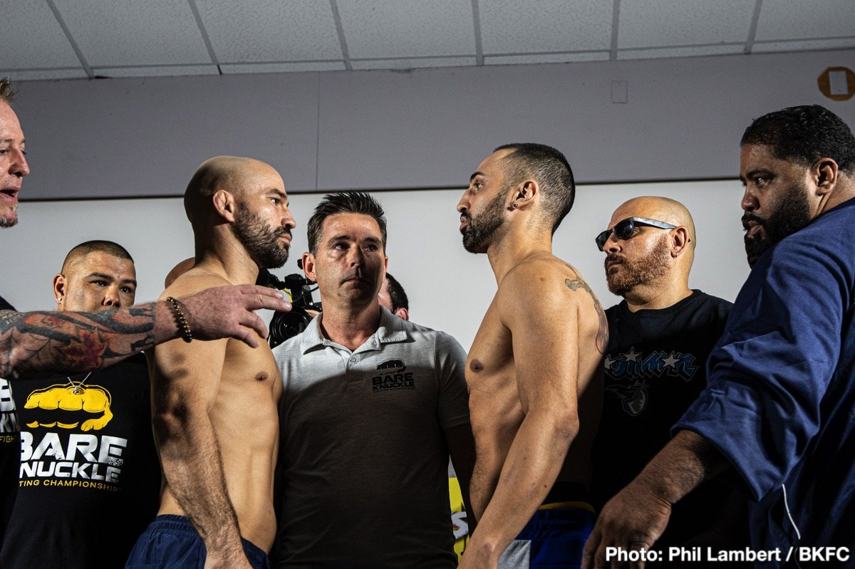 Artem Lobov, Paulie Malignaggi - This Saturday night in Florida will see bare knuckle boxing return to the big stage, with the world watching. Sort of.