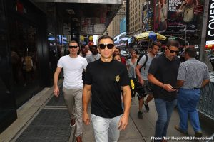 Gennady Golovkin - The way former middleweight king Gennady Golovkin tells it, he is absolutely certain he won both of his fights with Canelo Alvarez and that he remains an undefeated fighter. This is the mindset of GGG as he enters Saturday night's fight with the little-known Steve Rolls, this bout being the first in Golovkin's lucrative deal with DAZN.