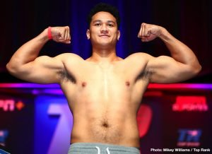 """Hemi Ahio - DiBella Entertainment has signed Undefeated Heavyweight Contender Hemi """"The Heat"""" Ahio (15-0, 10 KOs), of Auckland, New Zealand, to an exclusive promotional contract."""