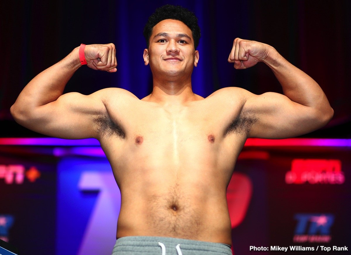 "Junior Fa - DiBella Entertainment has signed Undefeated Heavyweight Contender Hemi ""The Heat"" Ahio (15-0, 10 KOs), of Auckland, New Zealand, to an exclusive promotional contract."