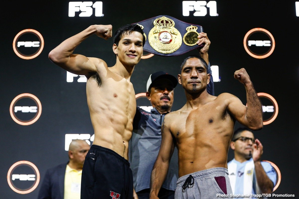 "Brandon Figueroa - Undefeated interim WBA Super Bantamweight champion Brandon ""The Heartbreaker"" Figueroa will make a 12-round homecoming title defense when he takes on Argentina's Javier ""Chispita"" Chacon Saturday, August 24 in the main event of FS1 PBC Fight Night on FS1 and FOX Deportes live from Bert Ogden Arena in Edinburg, Texas."