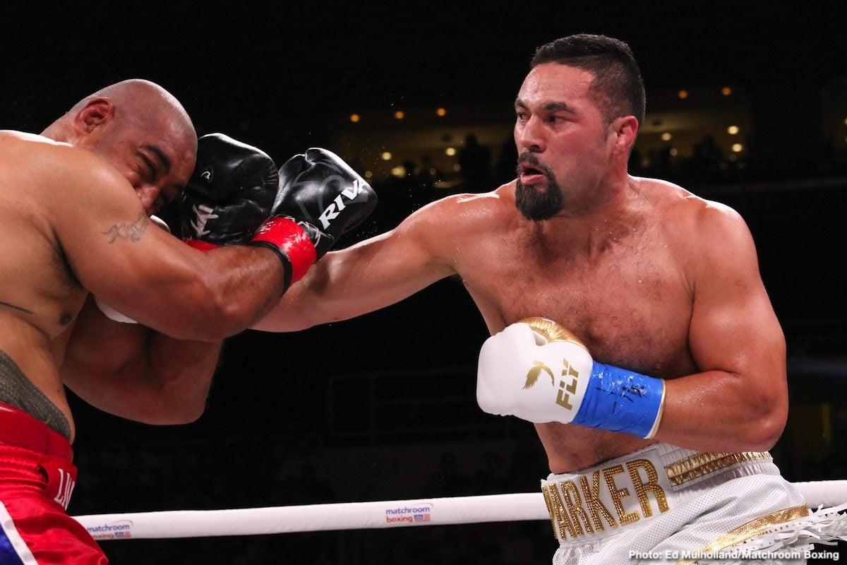 Andy Ruiz Joseph Parker Boxing News