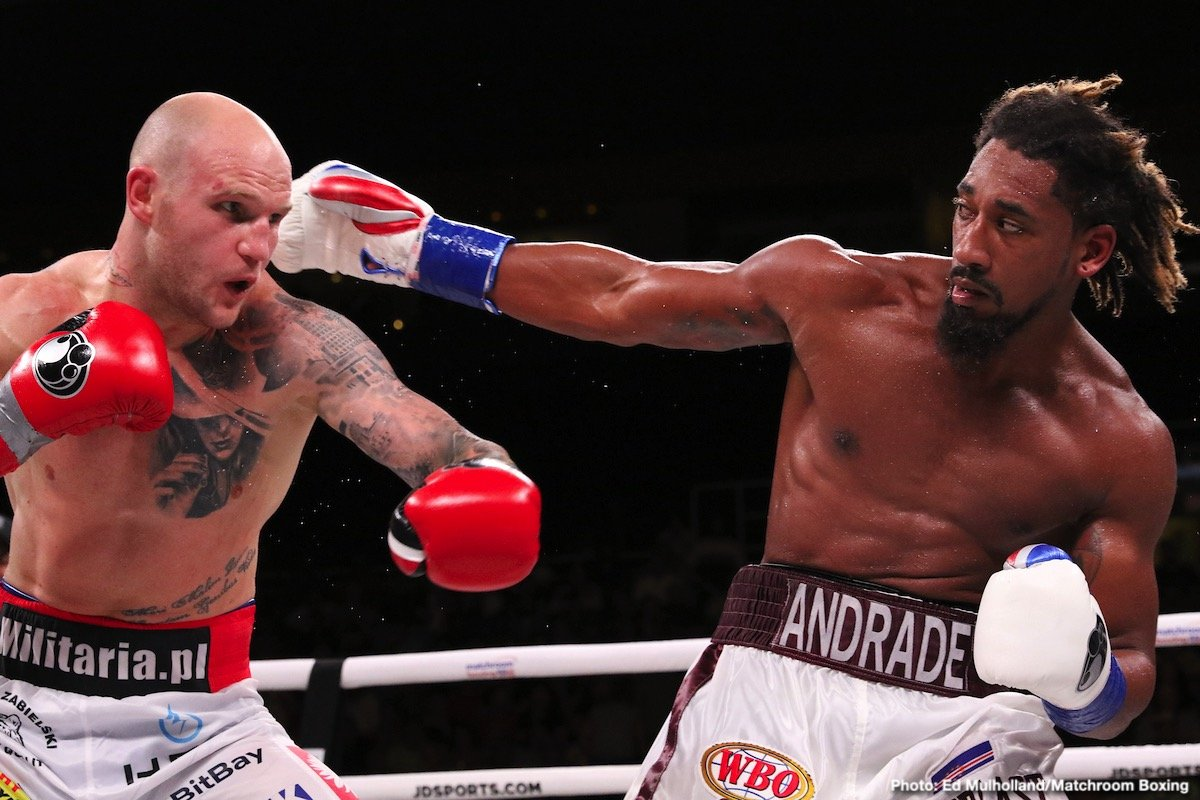 Alex Leapai - Demetrius Andrade produced a dominant performance in shutting out Maciej Sulecki to defend his WBO World Middleweight title for the second time against Maciej Sulecki at the Dunkin' Donuts Center in Providence, Rhode Island, live on DAZN in the US and on Sky Sports in the UK.