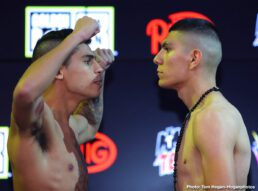 Jason Quigley, Tureano Johnson - Undefeated Irish contender Jason Quigley (16-0, 12 KOs) will return to the ring to defend his NABF Middleweight Title against battle-tested Tureano Johnson (20-2-1, 14 KOs) in the 10-round main event of the July 18 edition of the Golden Boy DAZN Thursday Night Fights at Fantasy Springs Casino in Indio, Calif. The fights will be streamed live on RingTV.com and on Facebook Watch via the Golden Boy Fight Night Page beginning at 10:00 p.m. ET/7:00 p.m. PT. The series will also be available on regional sports networks around the nation.