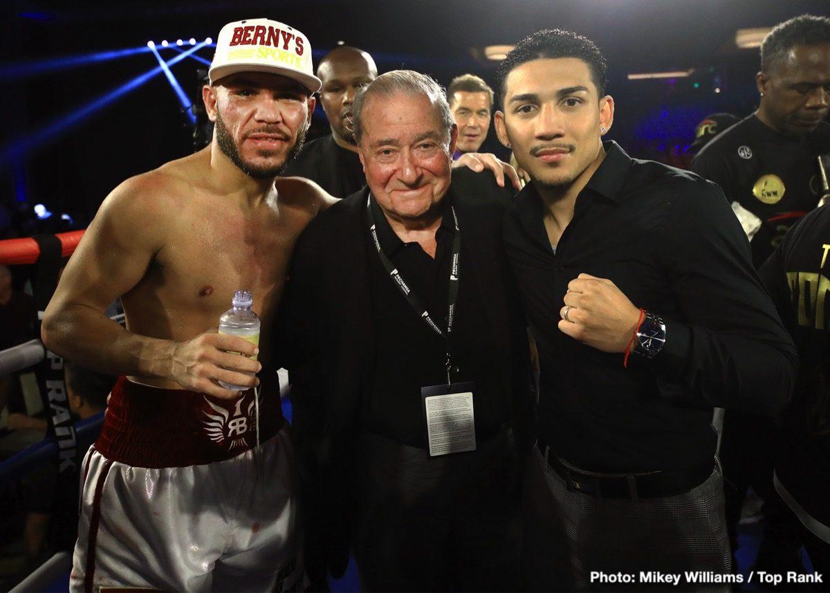 Bob Arum, Eddie Hearn, George Kambosos Jr., Teofimo Lopez - Boxing News