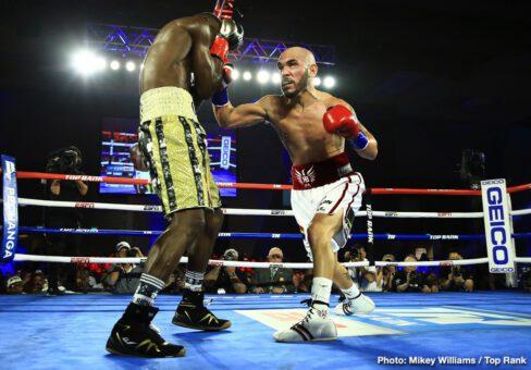 Ray Beltran, Richard Commey, Teofimo Lopez - Boxing News