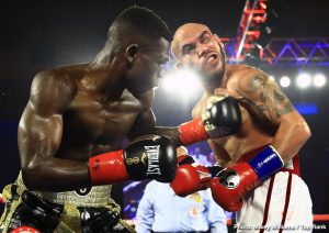 Ray Beltran, Richard Commey - On Friday night at the Pechanga Resort and Casino and telecast live on ESPN, IBF Lightweight World Champion Richard Commey (29-2, 26 KOs), of Accra, Ghana, and now based out of The Bronx, NY, continued to put the division on notice with a dominant performance culminating in an eighth-round knockout of former world champion Ray Beltran (36-9-1, 22 KOs), of Avondale, AZ, via Sinaloa, Mexico.