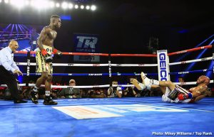 Ray Beltran - IBF lightweight belt holder Richard Commey (29-2, 26 KOs) got off to a strong start in knocking Raymundo Beltran (36-9-1, 22 KOs) down twice in round one, and he went on to stop the 38-year-old in the eighth round on Friday night on Top Rank Boxing on ESPN at the Pechanga Resort Casino, Temecula, California.