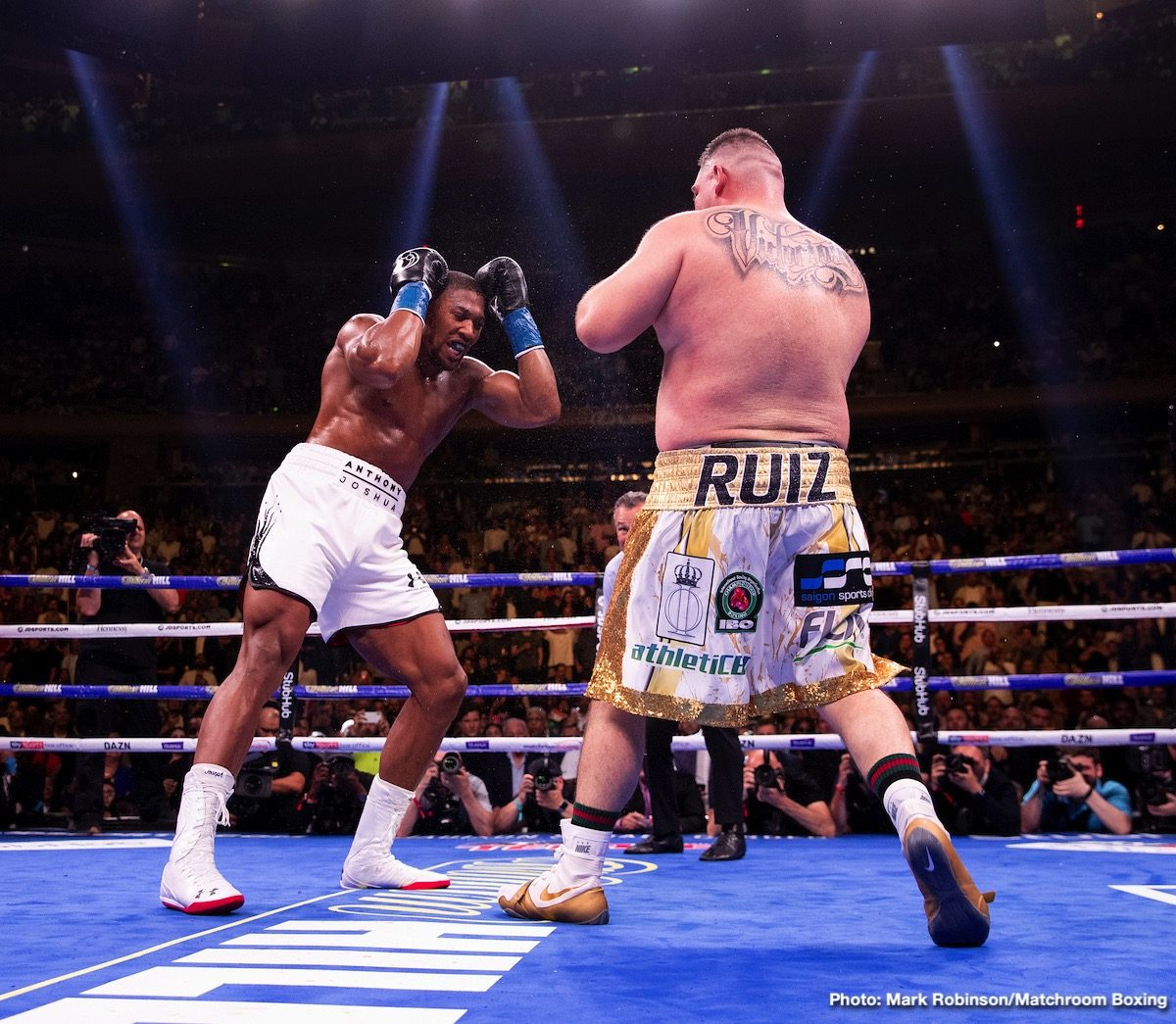 Andy Ruiz Jr Anthony Joshua George Foreman Boxing News