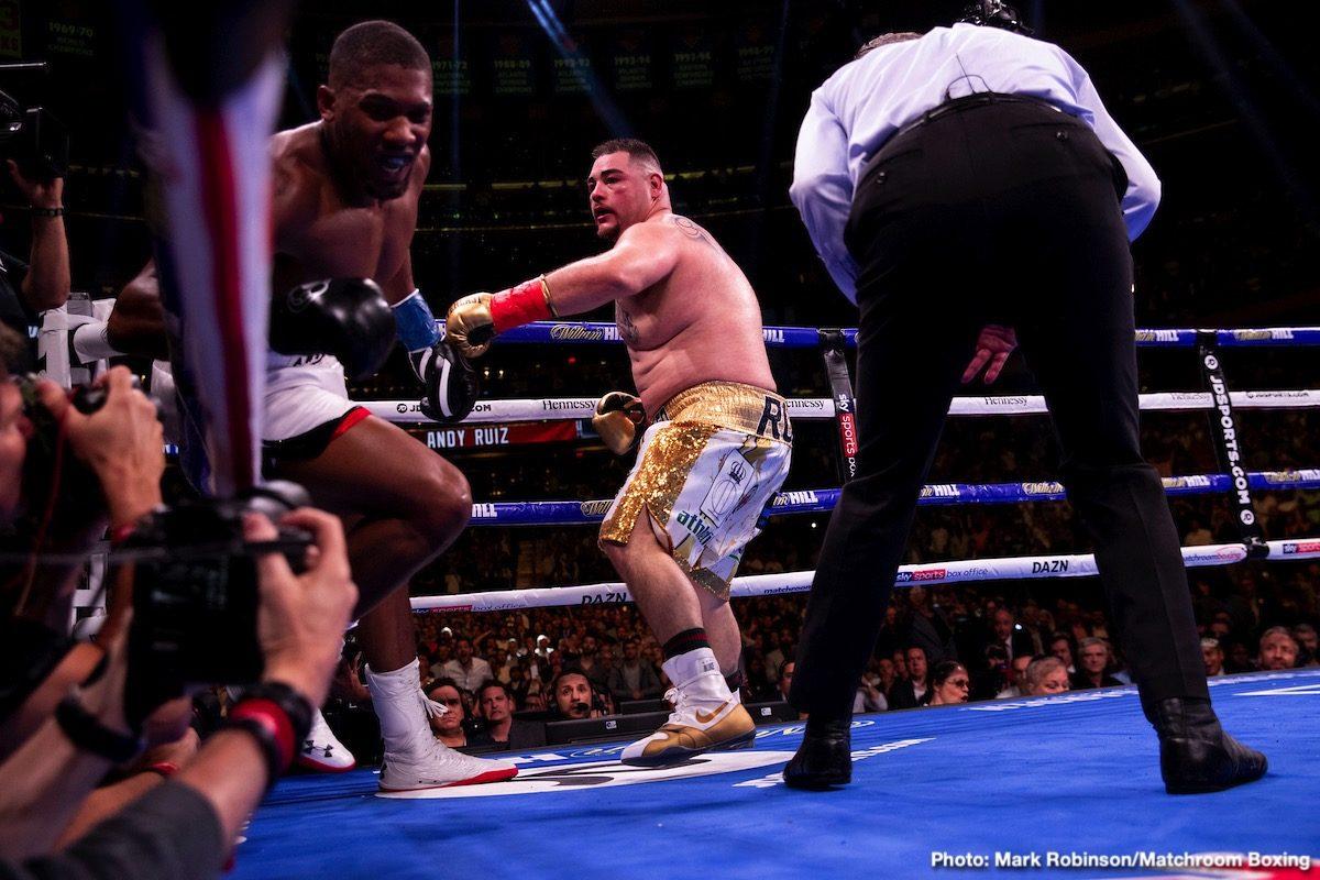 Alexander Usyk, Anthony Joshua, Bob Arum - Boxing News