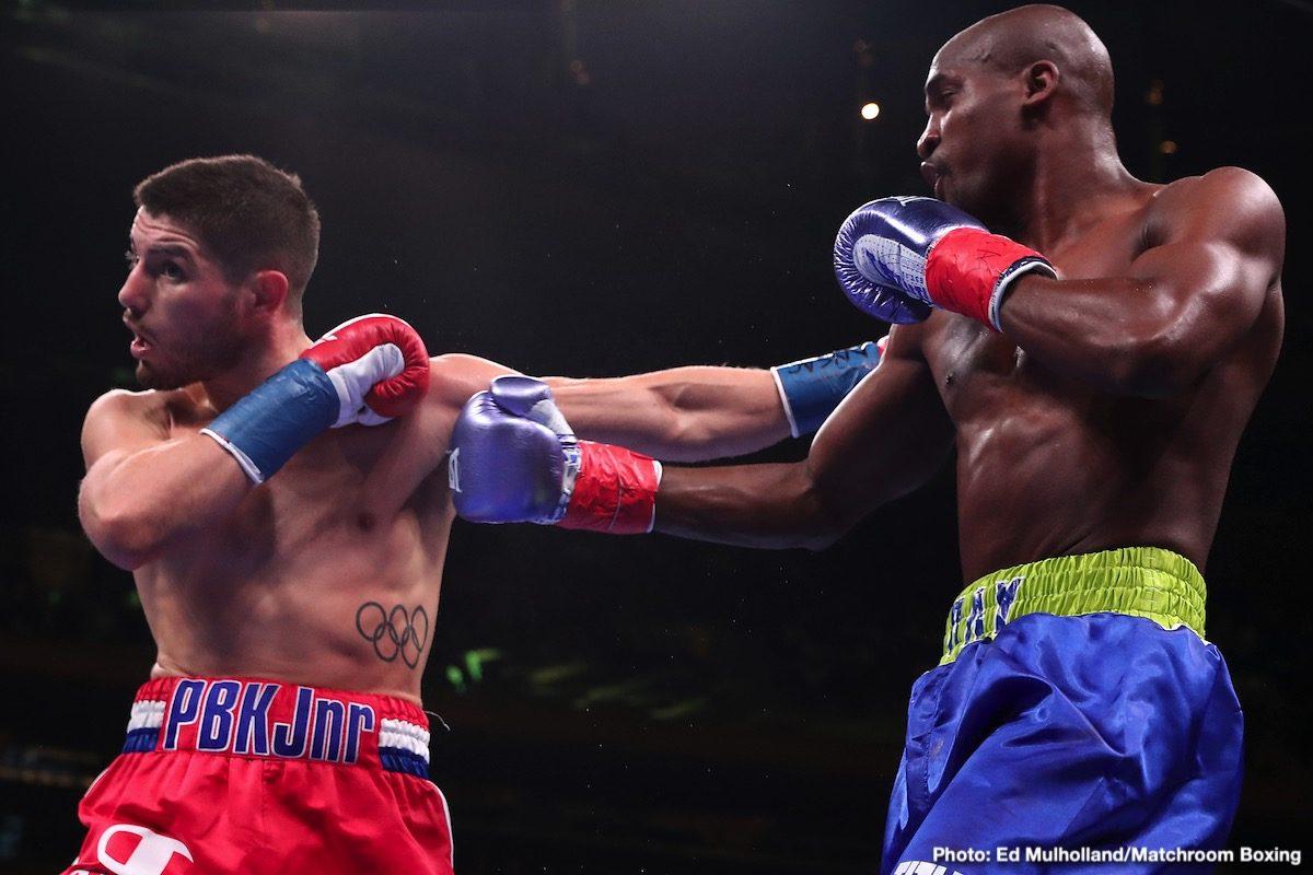 Josh Kelly Ray Robinson Boxing Results Press Room