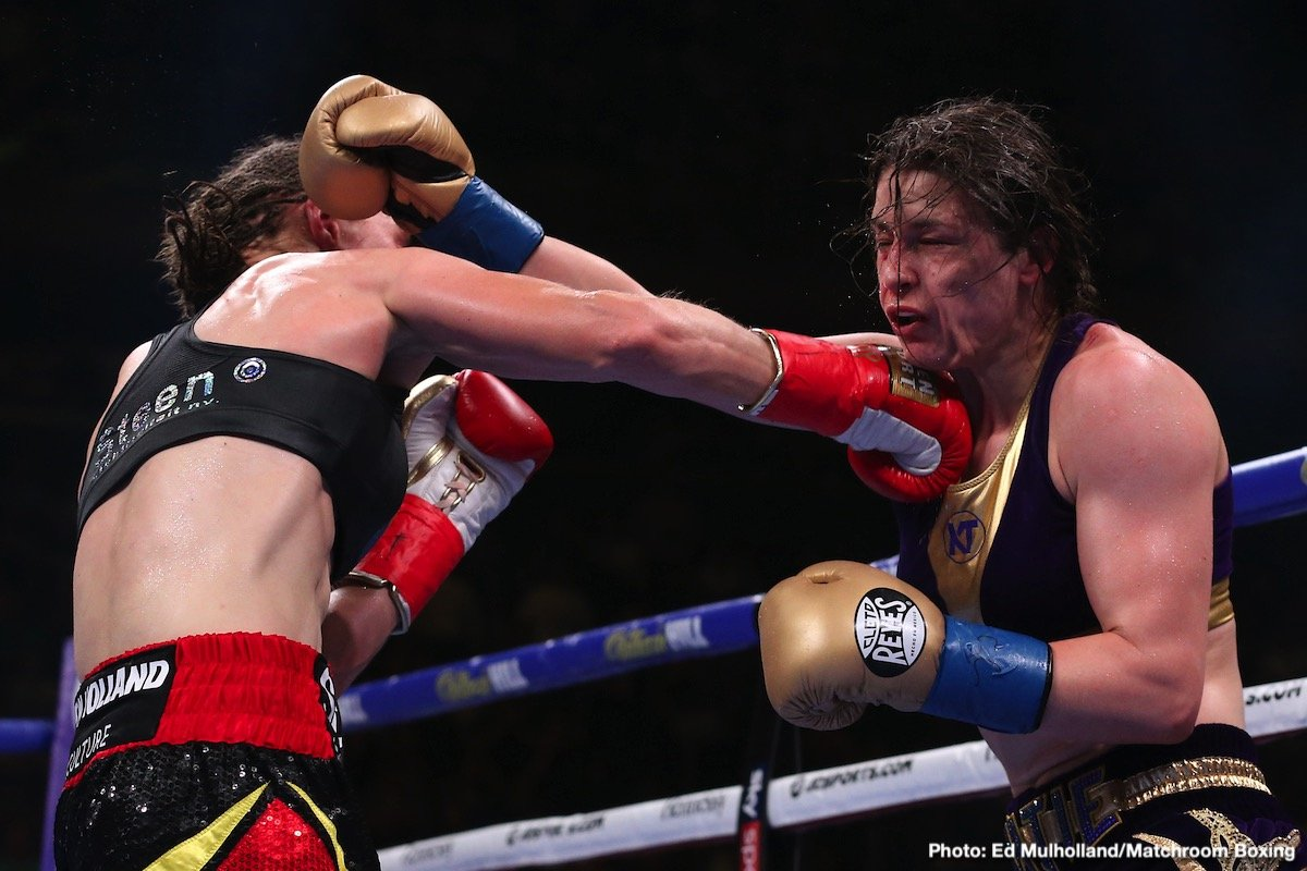 Katie Taylor - Chantelle Cameron has issued an honest assessment of Katie Taylor's world title unification victory over Delfine Persoon.