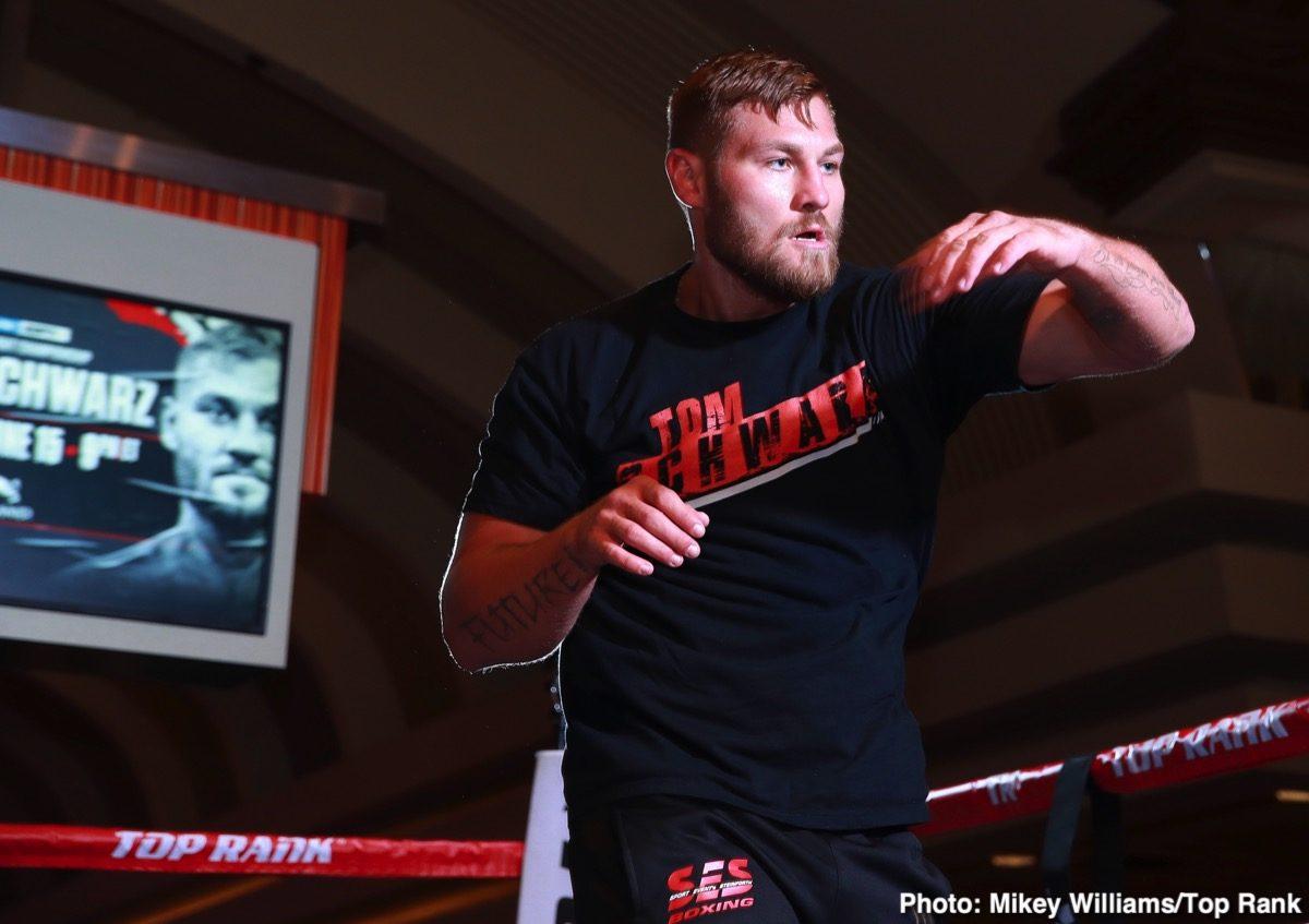 Tom Schwarz Tyson Fury Boxing News British Boxing