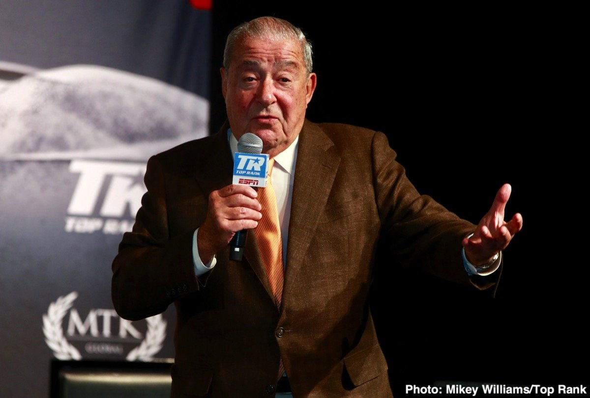 Keith Thurman - Hall of Fame promoter Bob Arum, who has been around the sport for six decades, has seen up close what can happen to a fighter – to any fighter – if he sticks around the game too long. Just recently, over the last six months or so, we have seen two very high-profile, top-class fighters who had turned the age of 40 suffer serious injury in fights: Adonis Stevenson back in December, and Zab Judah just last week. Both men wound up in hospital with a brain injury.