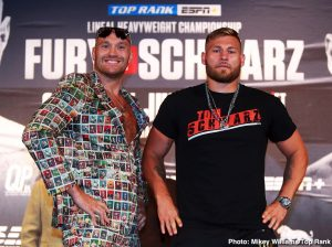 Sullivan Barrera - Ten minutes before the press conference was set to begin, Tyson Fury waltzed onto the stage at the David Copperfield Theater and started the proceedings early. The Tyson Fury Show had officially hit the Vegas Strip.