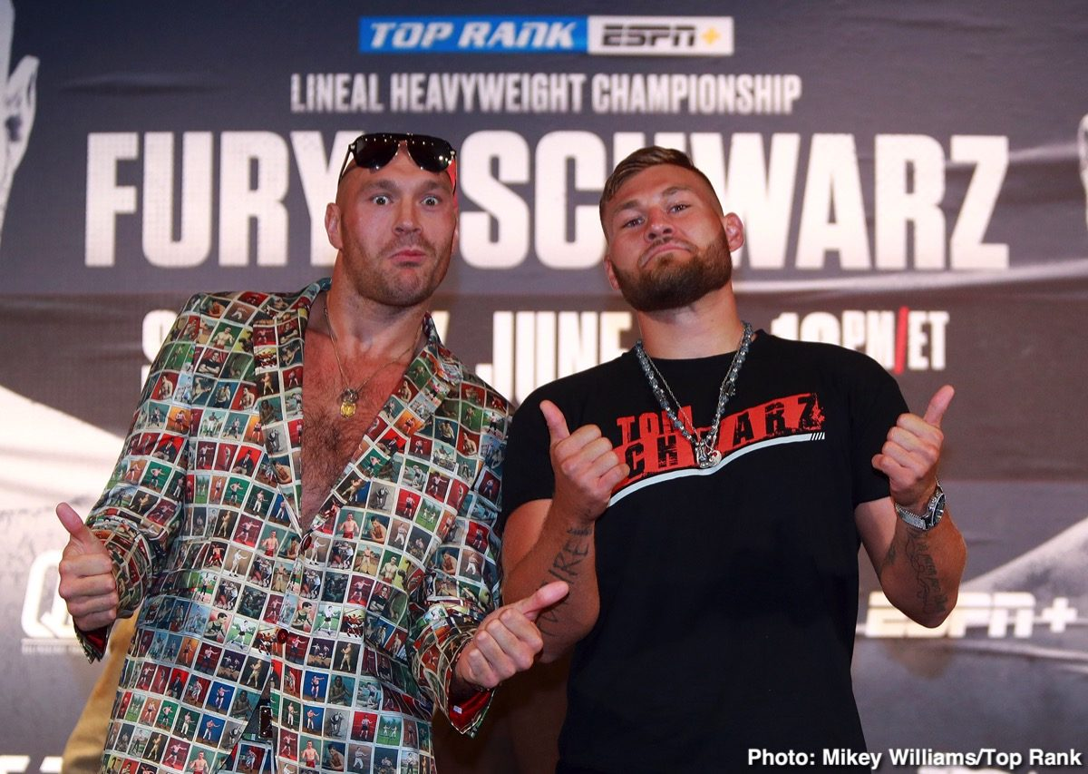 Jesse Hart Josh Warrington Kid Galahad Sullivan Barrera Tom Schwarz Tyson Fury Boxing News
