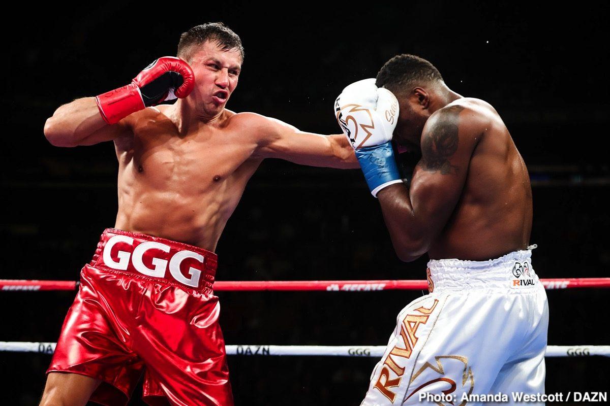 Gennadiy Golovkin Oscar De La Hoya Boxing News