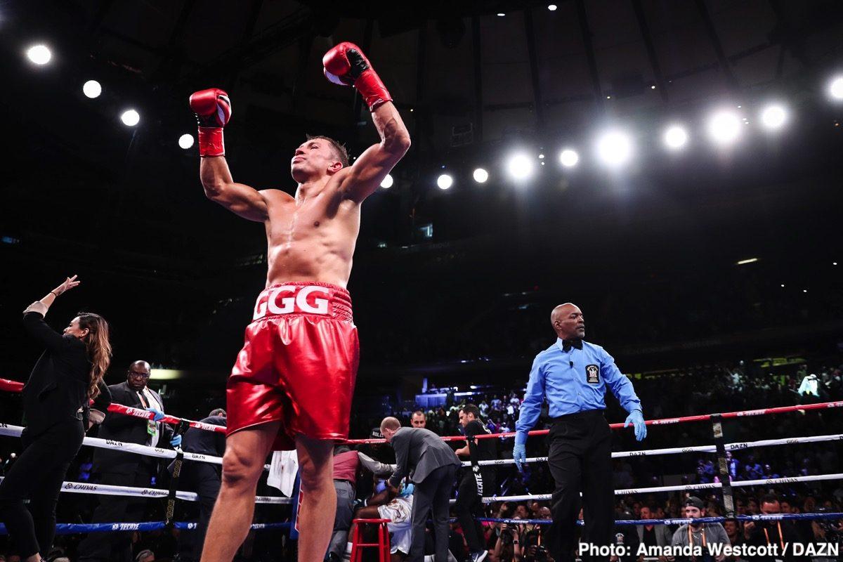 Demetrius Andrade, Eddie Hearn, Gennadiy Golovkin, Ryota Murata - Boxing News